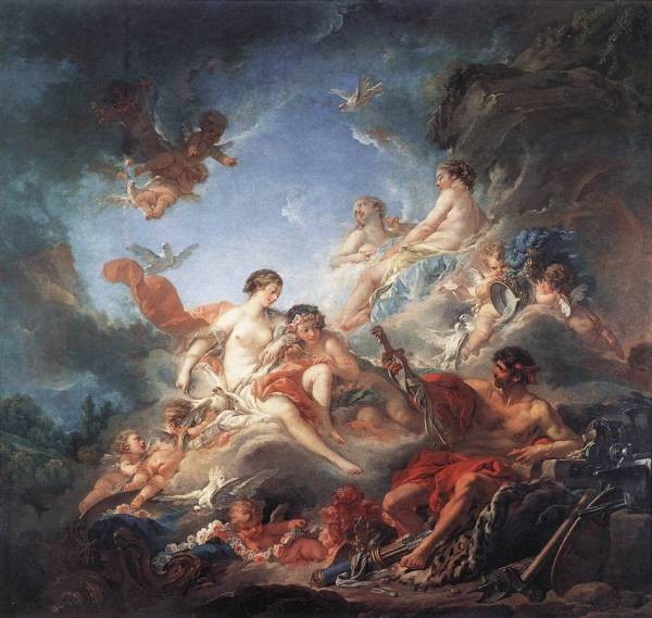 Vulcan Presenting Venus with Arms for Aeneas WGA